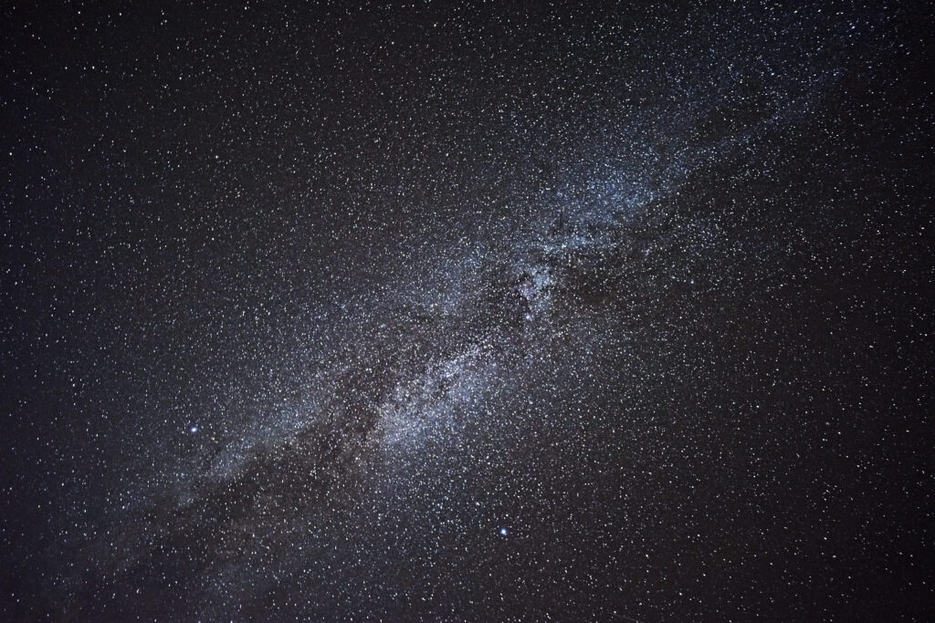 Astrophotography on La Palma viewing the Milky Way