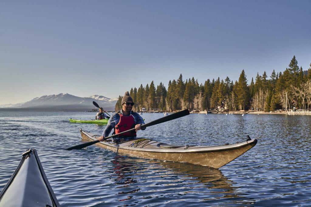 Kayak Lake Tahoe ©Matt Ray, All Rights Reserved