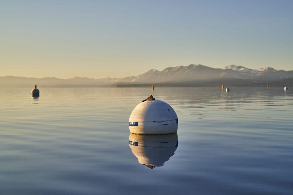 Kayak Lake Tahoe Bouy ©Matt Ray, All Rights Reserved