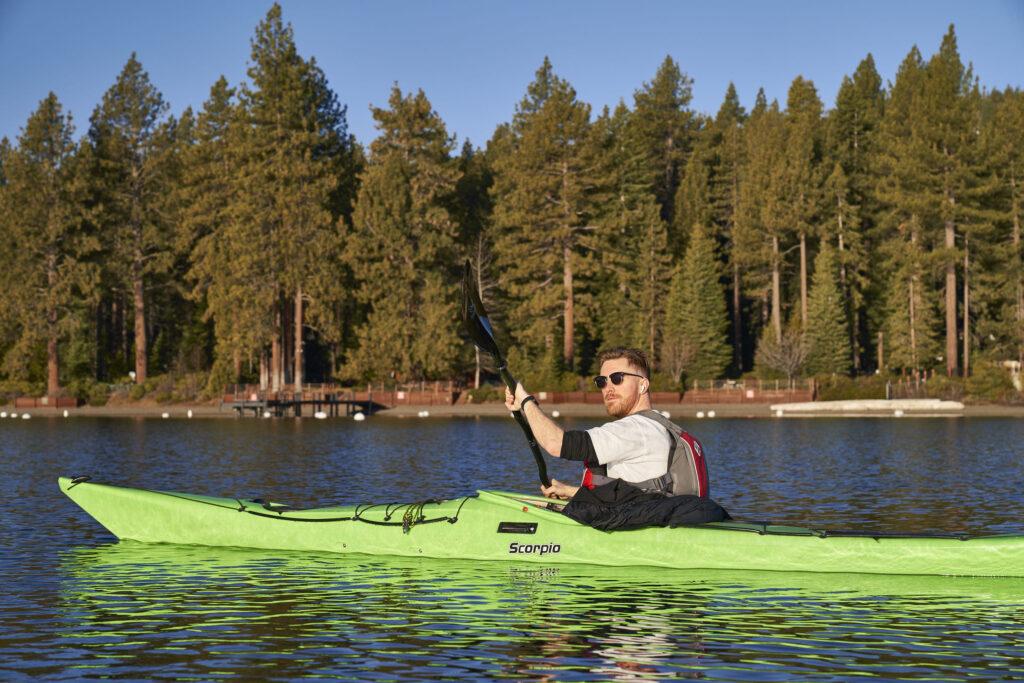 Kayak Lake Tahoe Jacob ©Matt Ray, All Rights Reserved