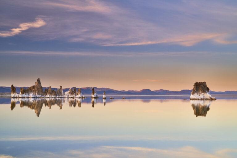 Sunset at Mono Lake, California