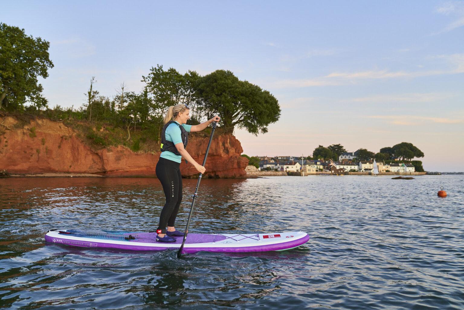 Red Paddle Board Co Ride 10'6 paddeboard test, Lympstone Devon