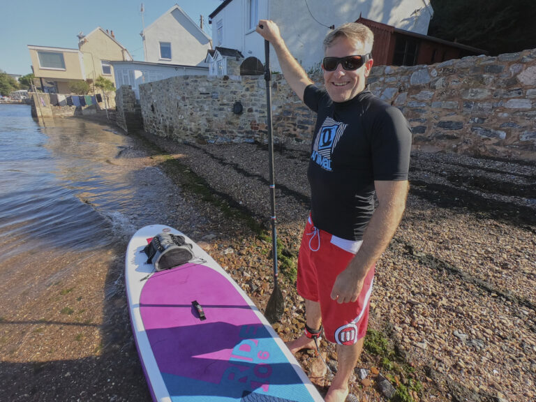 Red Paddle Board Co Ride 10'6 test, Lympstone Devon