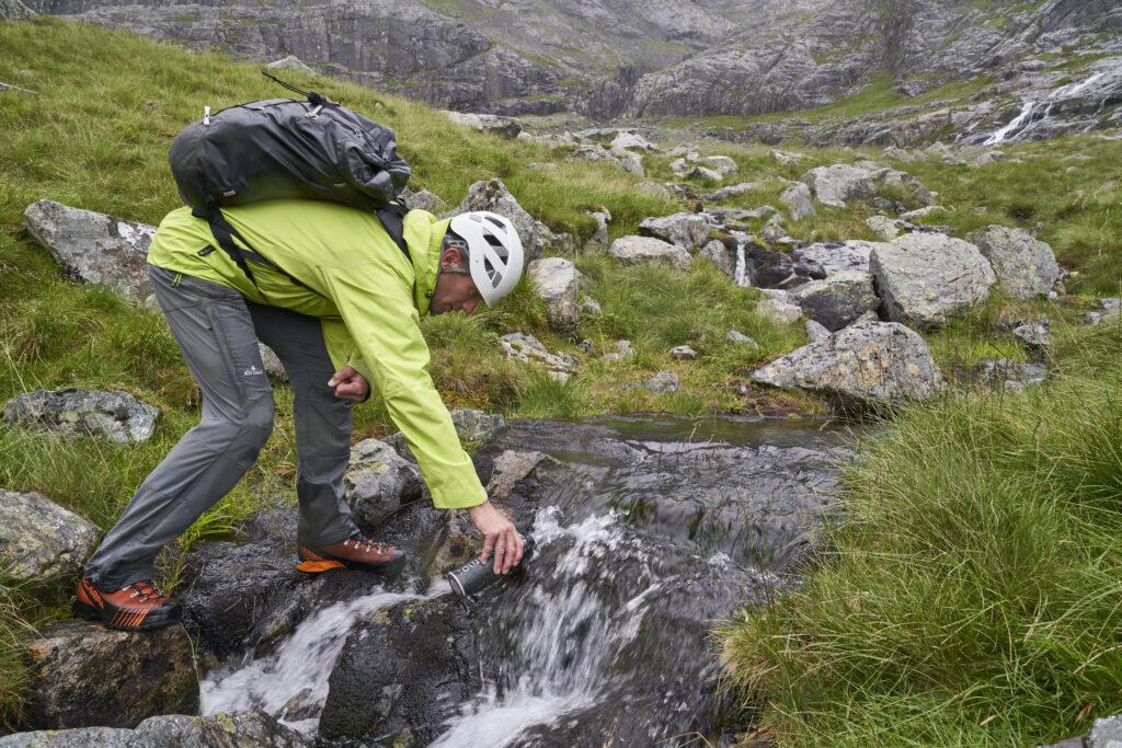 Climbing The North Face Of Ben Nevis