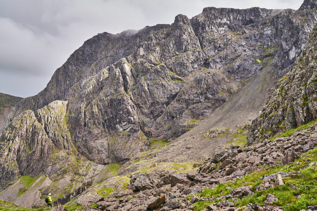 Tower Ridge on The North Face of Ben Nevis