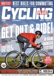 Cycling Plus Cover Jan 2021