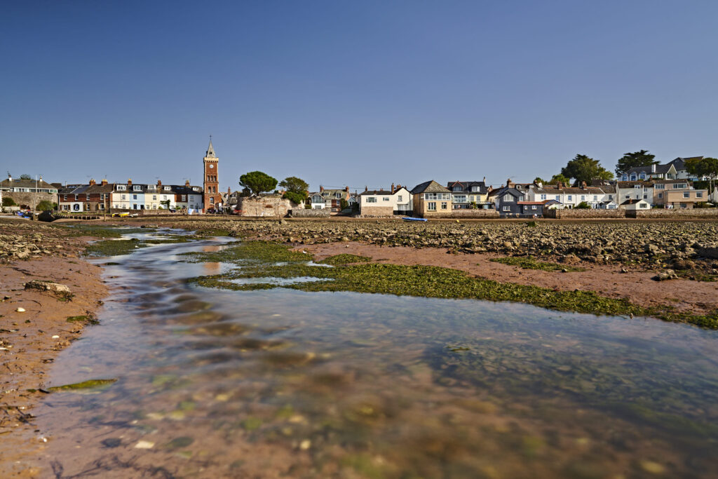 Lympstone Harbour At Low Tide by Matt Ray