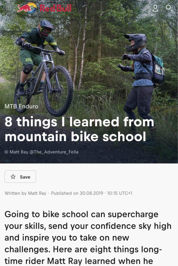 8 Things I Learned From Mountain Bike School