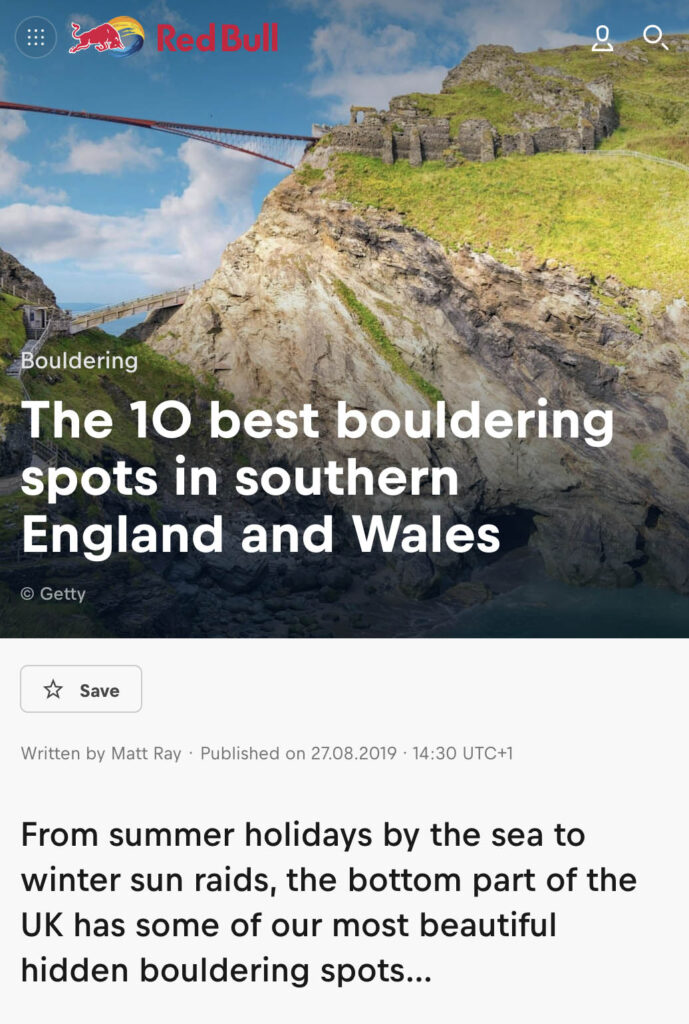 The 10 Best Bouldering Sport in Southern England And Wales