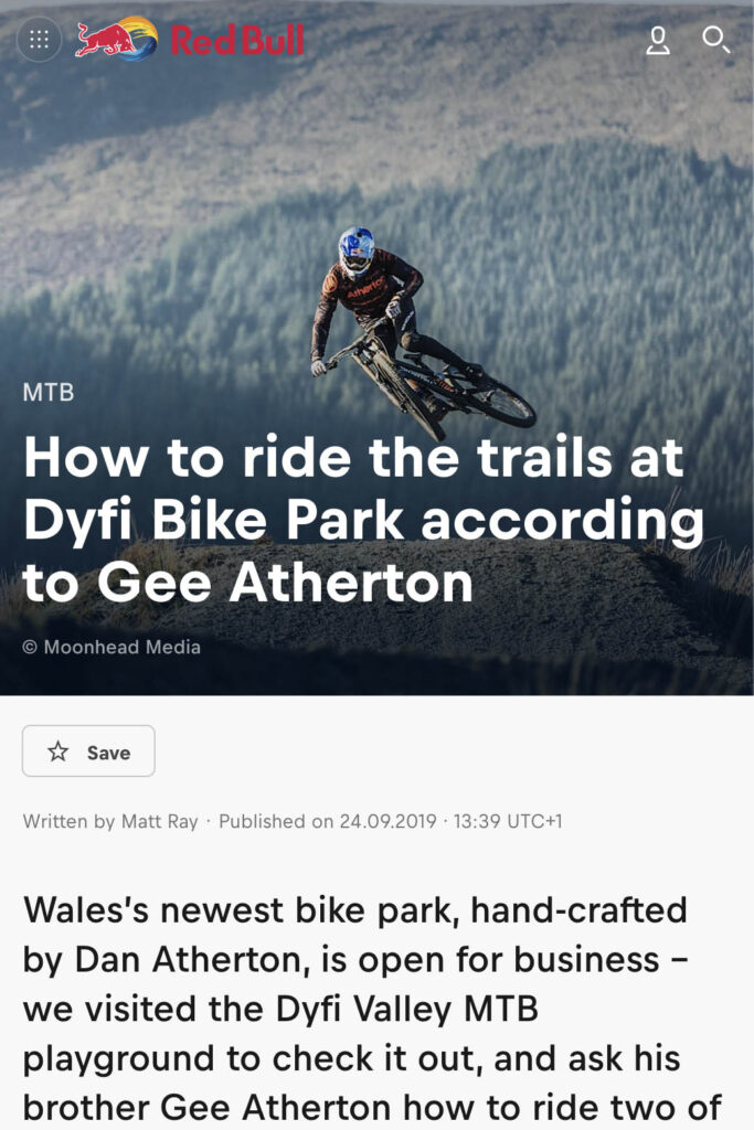 How to ride the Dyfii Bike Park
