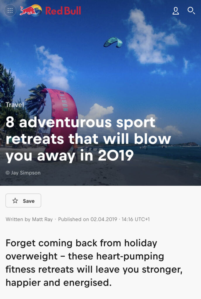 8 Adventurous Sports Retreats