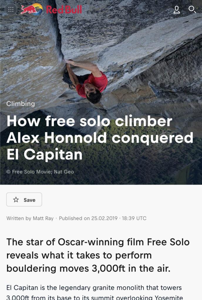 How Free Solo Climber Alex Honnold Conquered El Capitan