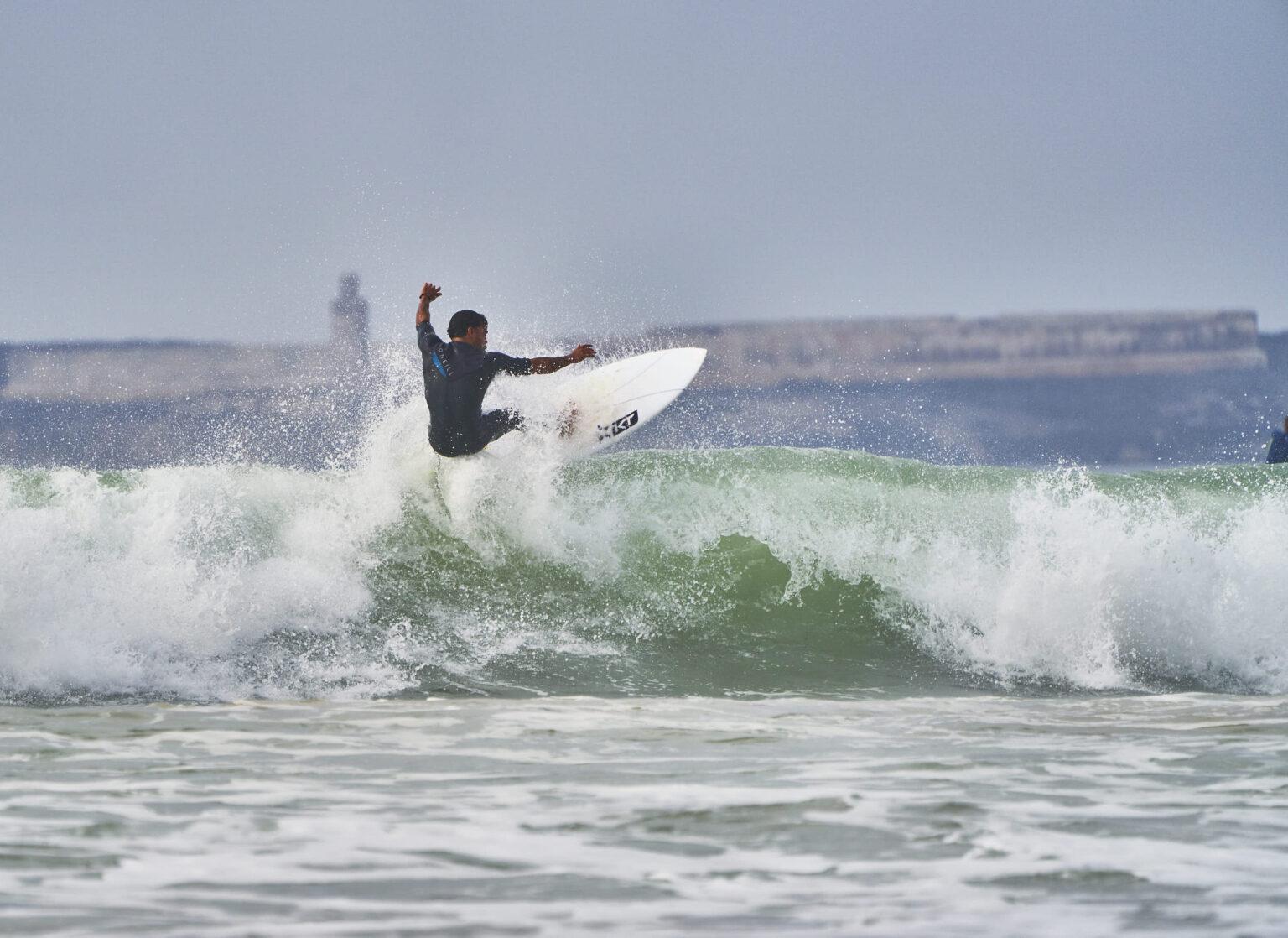 Surfing Essaouira