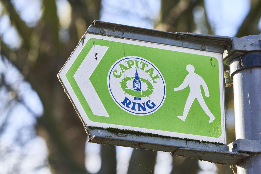 London's Capital Ring Walk is a good lockdown adventure